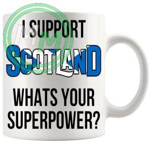 Scotland Supporters Euro Mug