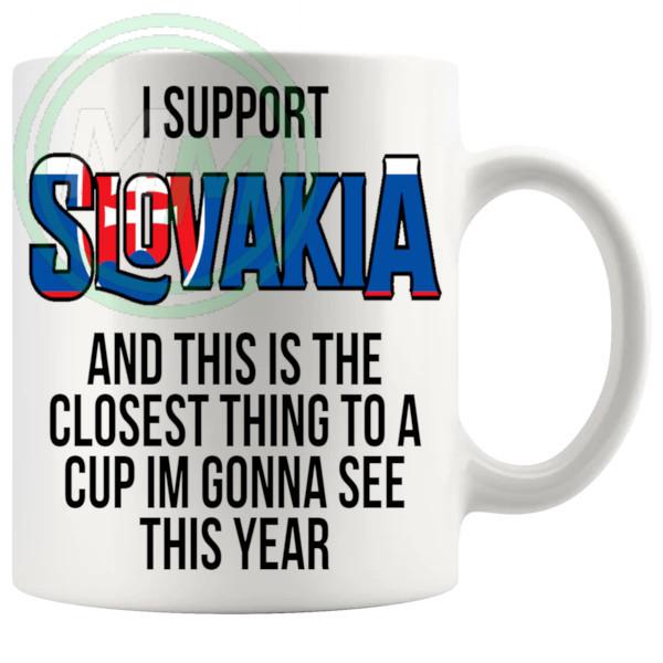 Slovakia Euro Mug
