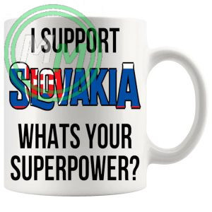 Slovakia Supporters Euro Mug
