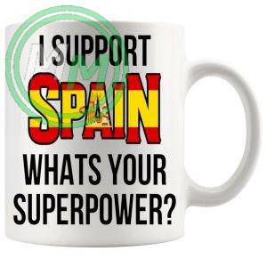 Spain Supporters Euro Mug