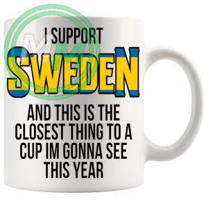 Sweden Euro Mug