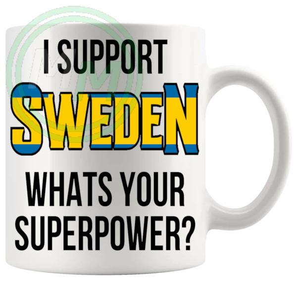 Sweden Supporters Euro Mug