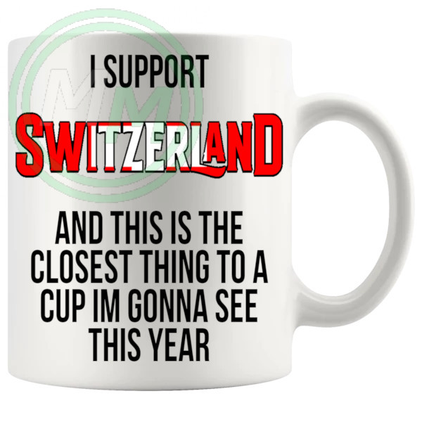 Switzerland Euro Mug