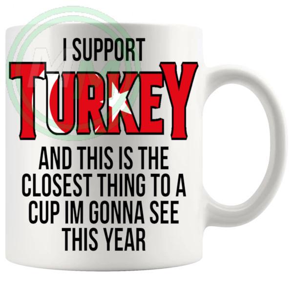Turkey Euro Mug