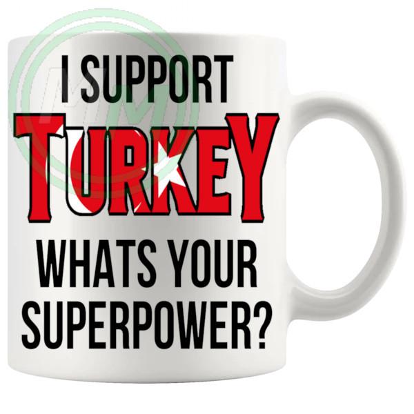 Turkey Supporters Euro Mug