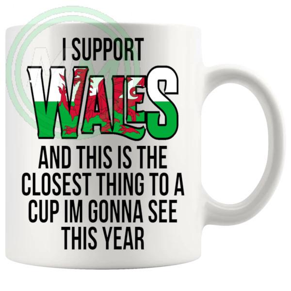 Wales Euro Mug