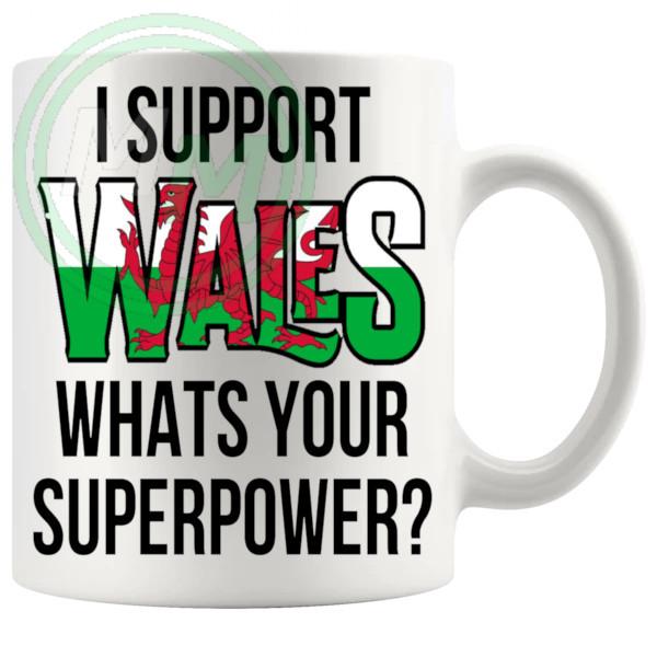 Wales Supporters Euro Mug