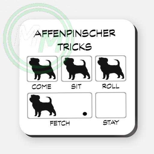 affenpinscher tricks coaster