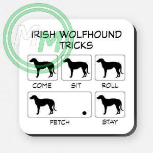 irish wolfhound tricks