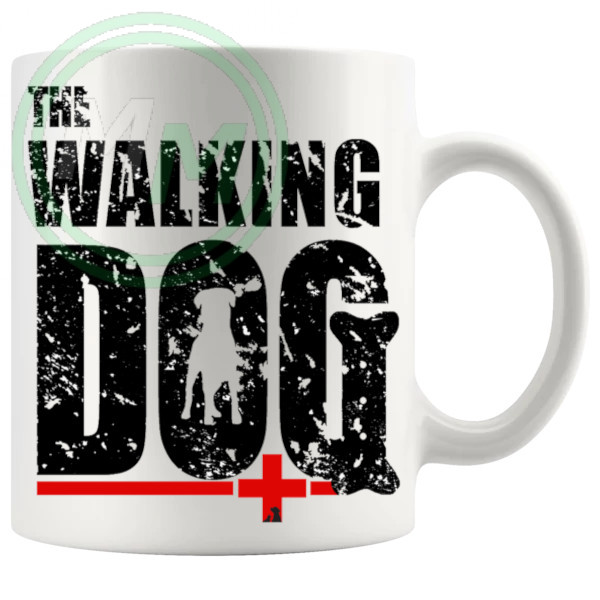 the walking dog mug