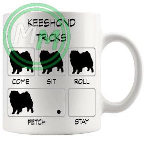 Keeshond Tricks Mug
