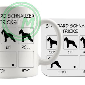 Standard Schnauzer Tricks Gift Set